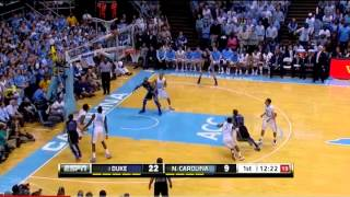 Seth Curry's Red-hot first half against North Carolina