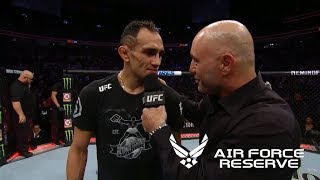 UFC 229: Tony Ferguson & Anthony Pettis Octagon Interviews
