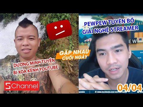 Dương Minh Tuyền bị xóa kênh YouTube | PewPew tuyên bố giải nghệ streamer ?? - GNCN 04/04 - Thời lượng: 8 phút, 16 giây.
