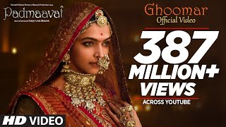Video Padmavati : Ghoomar Song| Deepika Padukone| Shahid Kapoor| Ranveer Singh|Shreya Ghoshal|Swaroop Khan MP3, 3GP, MP4, WEBM, AVI, FLV November 2017