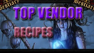 3.2 Vendor Recipes You NEED to know.