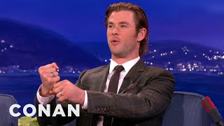 Chris Hemsworth Disses Thor's Hammer