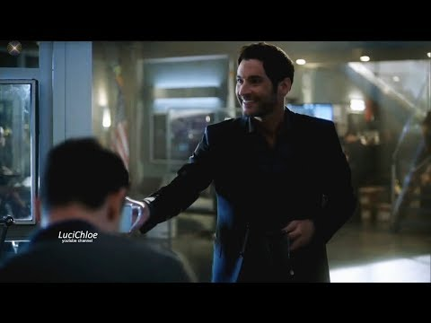 Lucifer 3x04 Luci Offers Chloe Coffee - She is pissed with Him & Pierce Season 3 Episode 4 S03E04