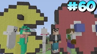 Minecraft Xbox Lets Play - Survival Madness Adventures - Pac Man Mini Game [60]