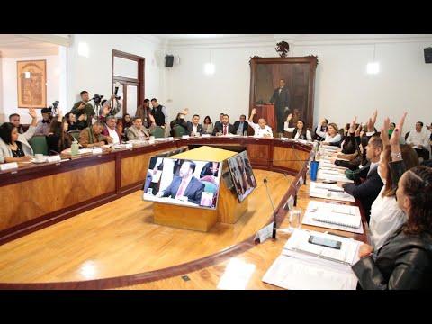 Cabildo H. Ayuntamiento de Tlalnepantla de Baz 11 marzo 2020