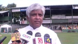 Arjuna Ranatunga shares his thoughts on Under 19 Cricket