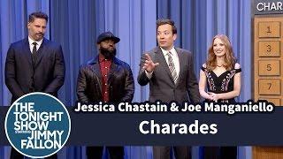 Video Charades with Jessica Chastain and Joe Manganiello MP3, 3GP, MP4, WEBM, AVI, FLV Juli 2018