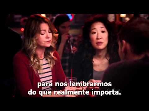 "Grey's Anatomy 8x08 - ""That was our first real fight"""