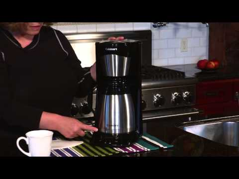 Cuisinart 12 Cup Thermal Coffeemaker (DTC 975BKN) Demo Video