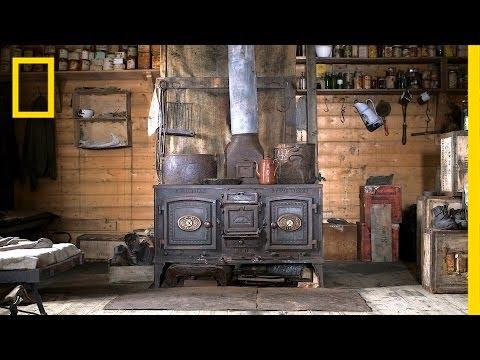Σπίτι στα βάθη της Ανταρκτικής στους -93 °C