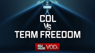 compLexity vs Team Freedom, ESL One Genting Quals, game 2 [Lex]