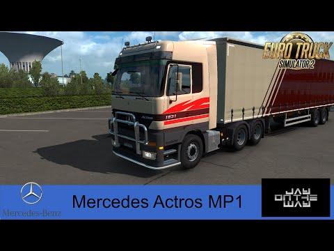 Mercedes Actros MP1 1.35+