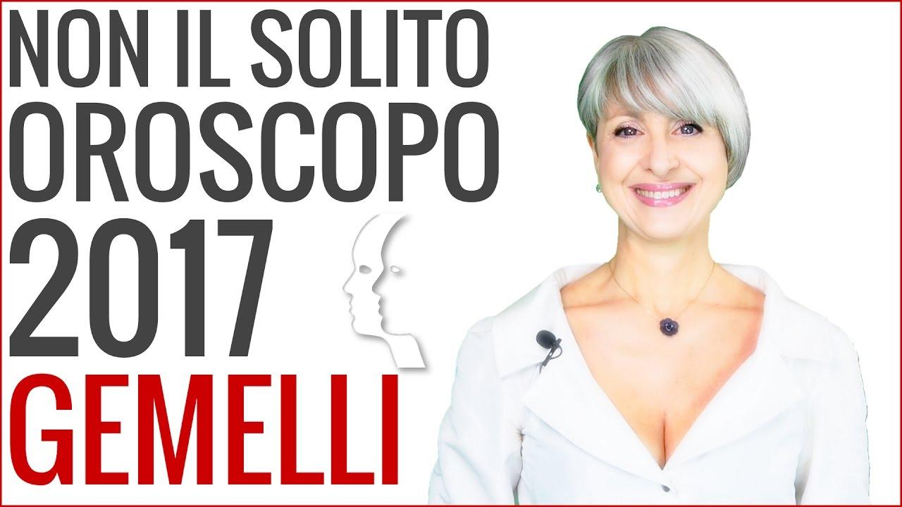 OROSCOPO 2017 ★ Gemelli
