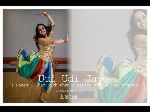 Video Udi Udi Jaye | Raees | Shah Rukh Khan & Mahira Khan | DANCE COVER-ESHA | QUICK CHOREOGRAPHY download in MP3, 3GP, MP4, WEBM, AVI, FLV January 2017