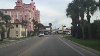 St. Pete Beach (FL) United States  city pictures gallery : Beach Town Driving - St Pete Beach Florida USA