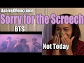 Bts Not Today Reaction
