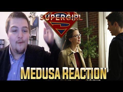 Supergirl Season 2 Episode 8: Medusa Reaction