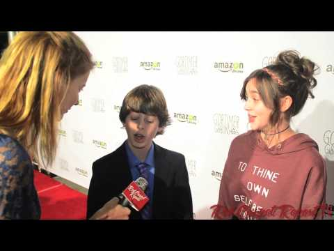 """Drew Justice & Ashley Boettcher at the Premiere of """"Gortimer Gibbon's Life on Normal Street"""""""