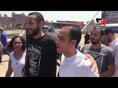 لحظة خروج مالك عدلي من قسم ثان شبرا الخيمة