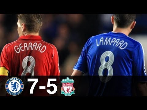 Chelsea vs Liverpool 7-5 Goals & Highlights w/ English Commentary UCL 2008/09 HD 1080p