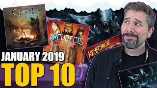 Top 10 hottest board games: January 2019