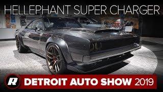 Hellephant '68 Dodge Super Charger Concept | Detroit 2019 by Roadshow