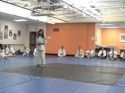 Budoshin Jujitsu 131102 Arlington Dojo Student