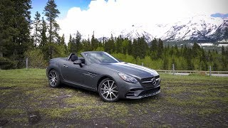 autoTRADER.ca is driving across Canada for its 150th birthday, with Mercedes-Benz. Day 5 brings redemption for Jeff Wilson, who perseveres – topless – through a blast of inclement weather just outside of Calgary, in the Mercedes-AMG SLC 43.