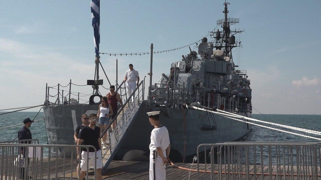 """1400 επισκέπτες δέχεται τη μέρα,το Α/Τ """"Βέλος"""",το πλοίο του Αντιδικτατορικού Αγώνα στη Θεσ/νίκη"""