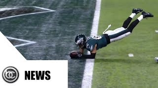 Zach Ertz scores winning TD with controversial catch