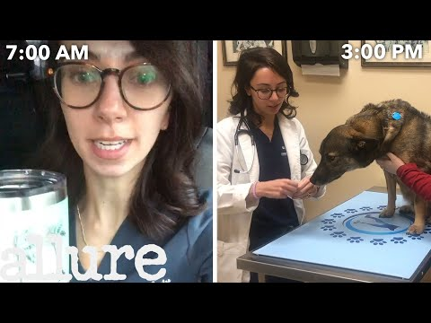 A Veterinarian's Entire Routine, from Waking Up to Treating Pets | Allure