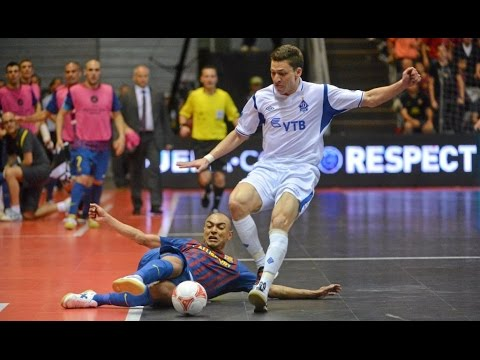 BARCELONA vs DYNAMO. UEFA Futsal Cup.Final. 29/04/2012