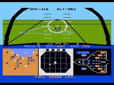F-15 Strike Eagle II Atari