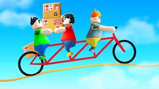 FALL OFF The TIGHTROPE = You LOSE! (Totally Reliable Delivery Service)