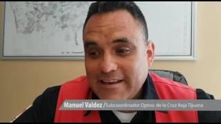 Entregan apoyos a 5 socorristas de la Cruz Roja Tijuana