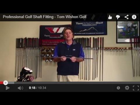 Professional Golf Shaft Fitting – Tom Wishon Golf