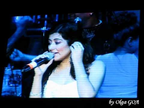 Jonita Gandhi - Sonu Nigam's Concert - Moscow, Russia - 10 august 2013 (видео)