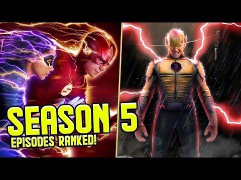 The Flash: Season 5 Episodes RANKED!