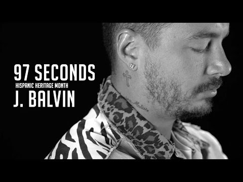 """""""Why Not Be Happy & Make People Happy"""" - 97 Seconds w/ J Balvin"""