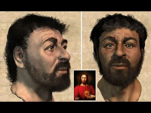 Original Face of JESUS CHRIST Reconstructed using Ancient Skulls by Richard Neave