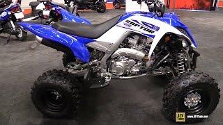 11. 2015 Yamaha Raptor 700R SE Sport ATV - Walkaround - 2015 Salon Moto de Montreal
