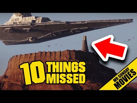 Easter Eggs and References in the New Trailer for Rogue One A Star Wars
