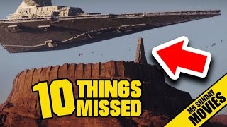 ROGUE ONE: A STAR WARS STORY Trailer - Easter Eggs & Things Missed