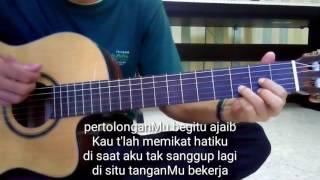 belajar gitar pertolonganMu Citra Scholastika