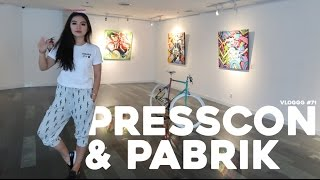 Video VLOGGG #71: Press Con & Pabrik Baju MP3, 3GP, MP4, WEBM, AVI, FLV Juni 2017