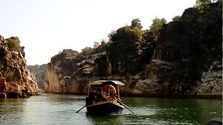 Bheraghat is a Real Boating Place on Narmada river alongwith Fresh Nature OXygen