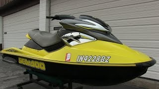 8. 2004 Sea-Doo RXP supercharged 215hp 4-stroke jet ski walk-through tutorial