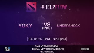 Yoky vs Undershock, Flow Tournament 1x1, game 1 [Adekvat, Smile]