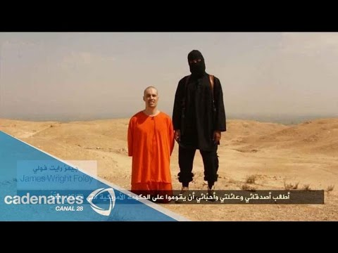asesinato - Circula en internet el brital asesinato del periodista en manos de Radicales Islamistas. 21 de agosto 2014. Para más información entra en http://www.cadenatr...