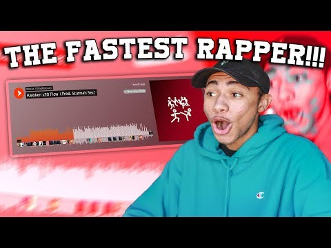 THE FASTEST RAPPER ON SOUNDCLOUD!!!  Reacting To My Subsribers SoundCloud39s!